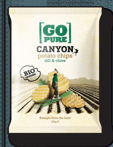 Canyon potato chips dill