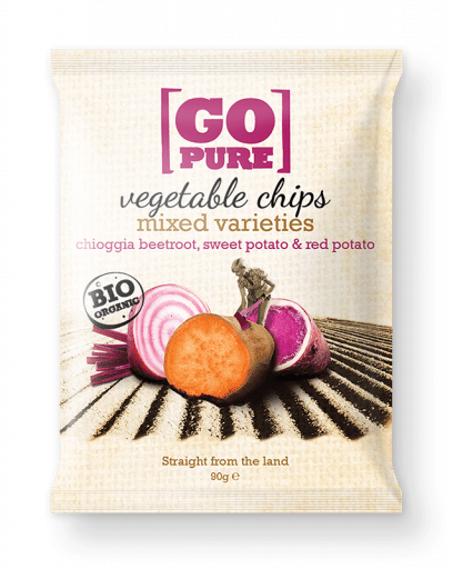 Mixed varieties vegetable chips beetroot
